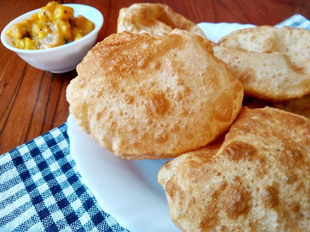 Bedmi Poori   Urad Dal Poori   Indian Breakfast Recipe