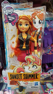 My Little Pony Sunset Shimmer Reboot Equestria Girls Doll Spotted at Toys'R'Us