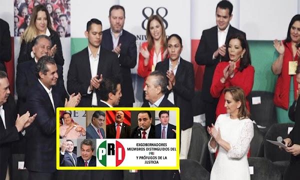 Hundido en la Corrupción, Dividido, débil y sin candidato presidencial llega PRI a su asamblea nacional