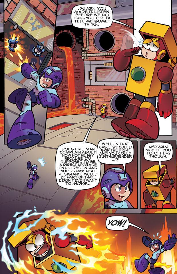 Matt Herms Comic Art And Illustration Mega Man 10