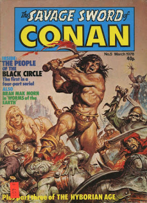 Marvel UK, Savage Sword of Conan #5