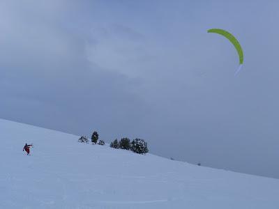 snowkite teruel