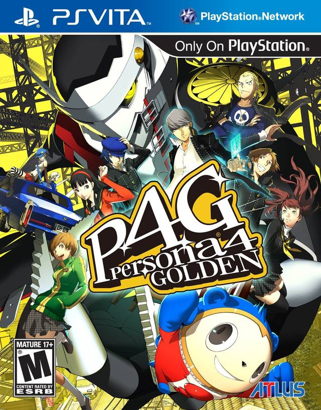 ALL GAMES FREE: Persona 4 Golden [improved UNDUB] (NoNpDRM) +