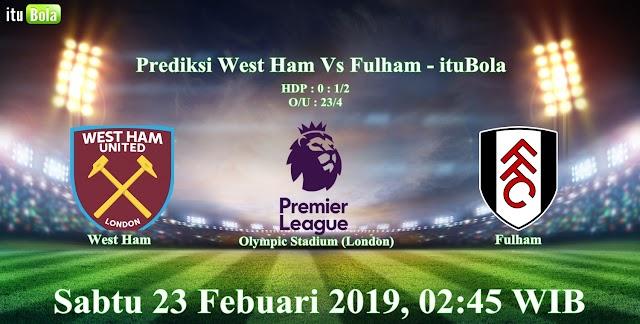 Prediksi West Ham Vs Fulham - ituBola