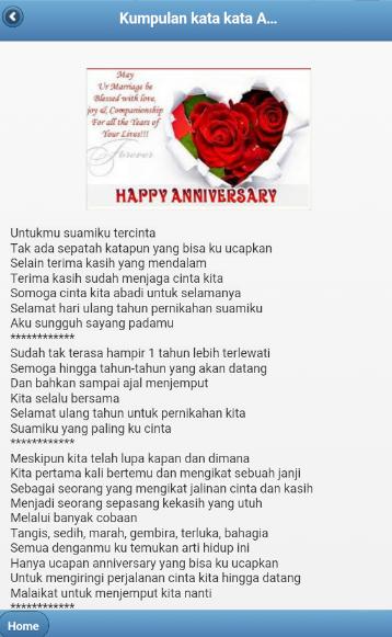 Kata Kata Happy Anniversary Untuk Pacar Tersayang
