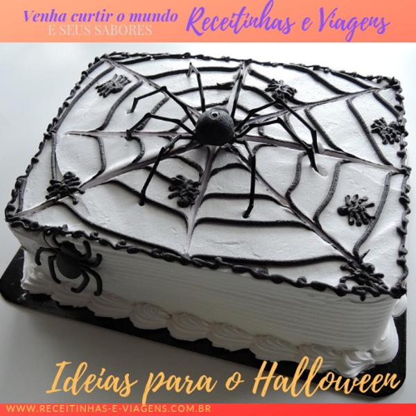ideias de sobremesas decoradas para o Halloween