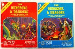 Basic/Expert D&D Books image
