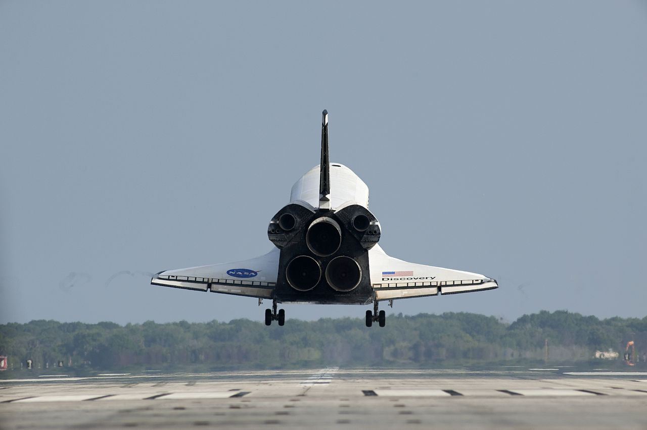 space shuttle landing in europe - photo #48