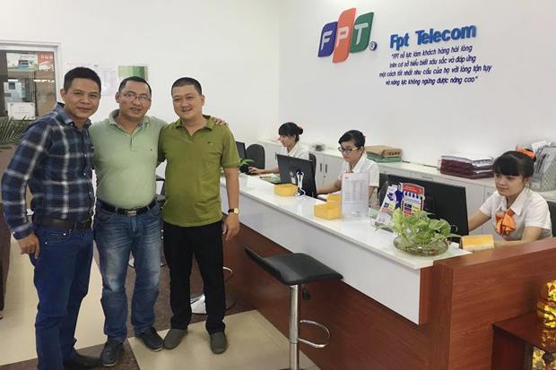 Công TY FPT Telecom Miền Tây Chào Đón 6 Giám Đốc Mới