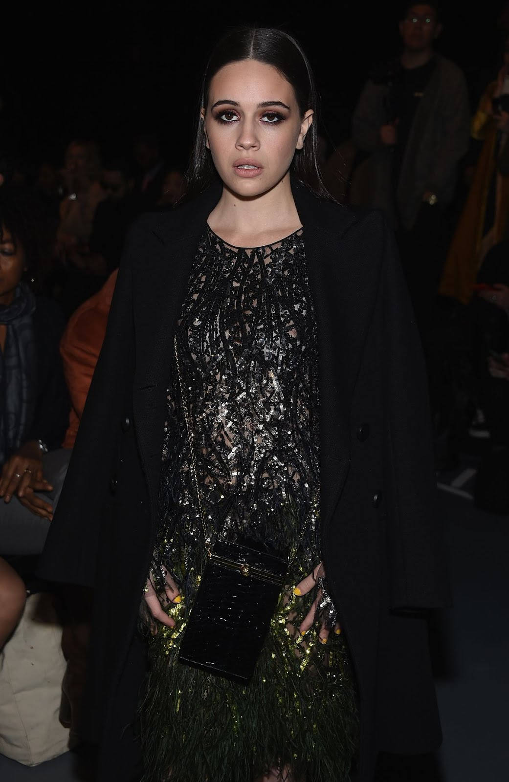 Bea Miller At Pamela Roland Fashion Show At New York Fashion Week 2018 In New York
