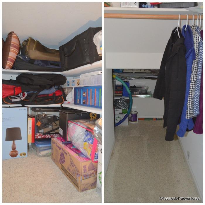 Coat Closet Shelves