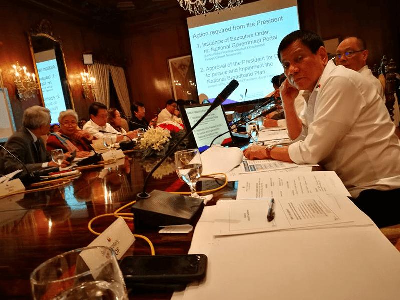 Duterte Approved The National Broadband Program!