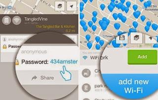 Cara Bobol WiFi Android dengan WiFi Map