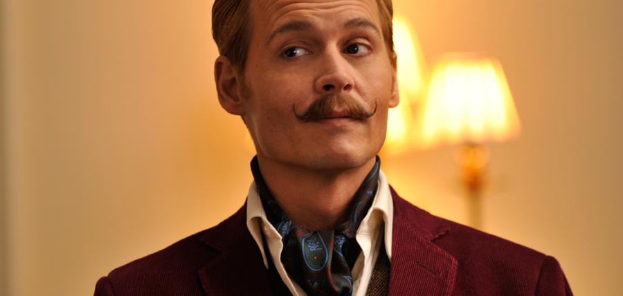 Johnny Depp într-un nou rol excentric: Charlie Mortdecai