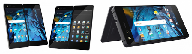 ZTE launches crazy, foldable, dual-screened smartphone Axon M
