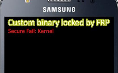 How to fix Custom Binary Blocked by FRP Lock Samsung Galay Z2