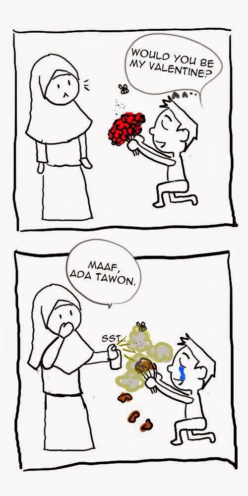 Komik ,Iyah, say no to valentine, Valentine