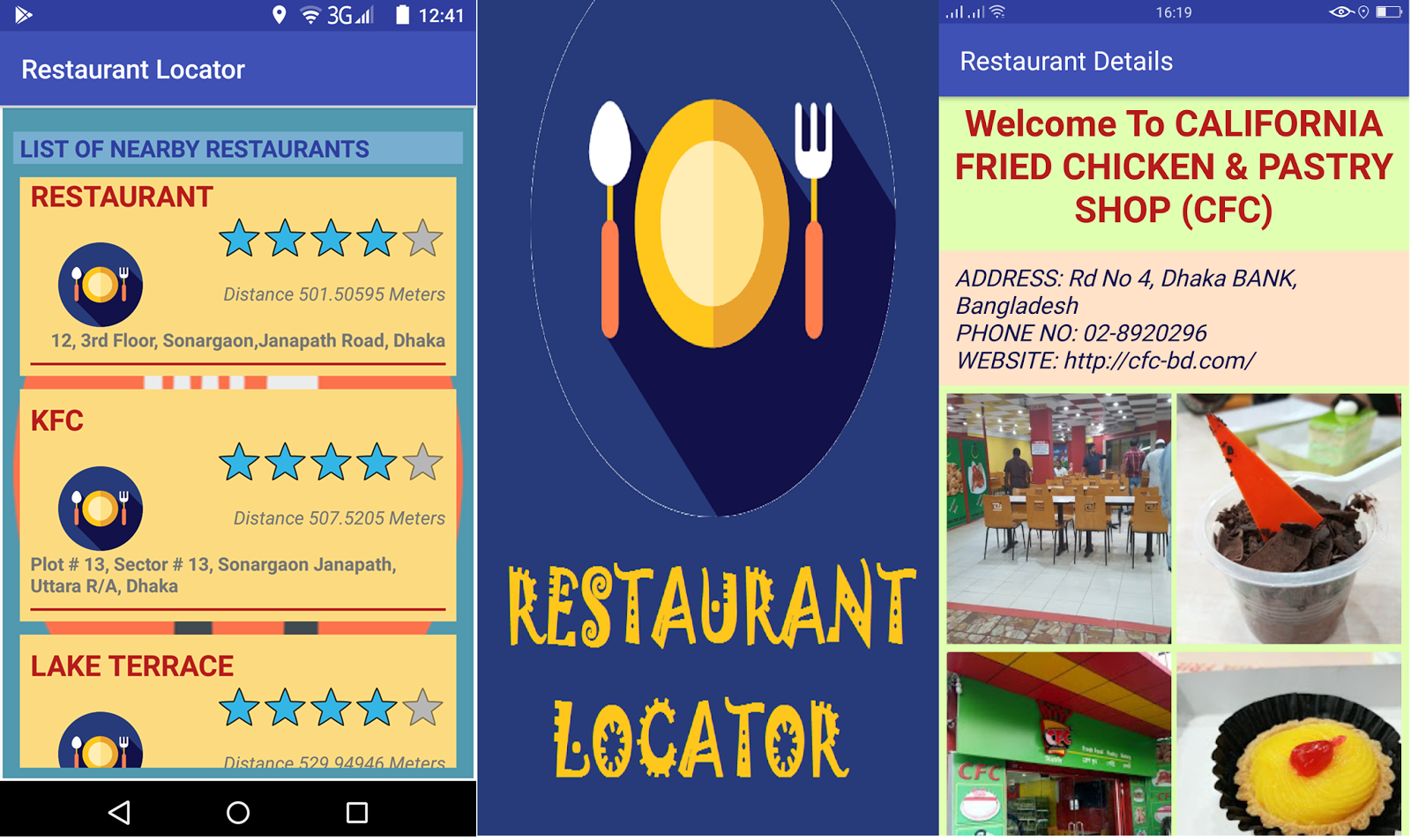 Restaurant Locator Identifies The Cur Location Of User And Find Out Nearby Restaurants Information This Lication Uses Maps Googleapis Services