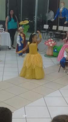 Princesa Bela na Formatura
