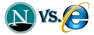 Perang Web Di tahun 1998 Netscape vs Internet Explorer