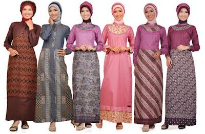 Ngaku Muslim Indonesia? Pakai Dulu Model Baju Muslim Batik Buat Tampil Keren Di 2016