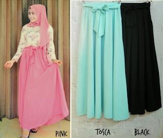 model rok busana muslim batik