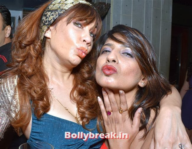 Vandana with a guest, Page 3 Celebs at Lagerbay New Menu Launch Party