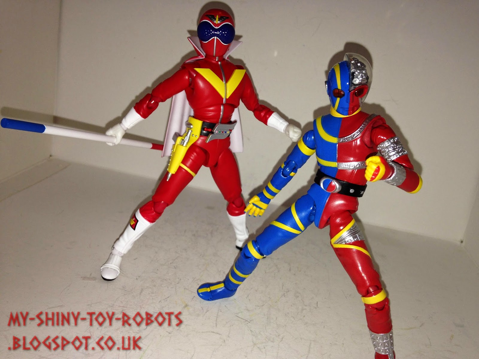 Akaranger and Kikaider