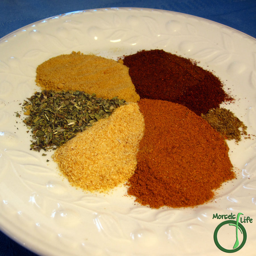 Morsels of Life - Taco Seasoning - A quick, easy, and tasty taco seasoning you can throw together in minutes!