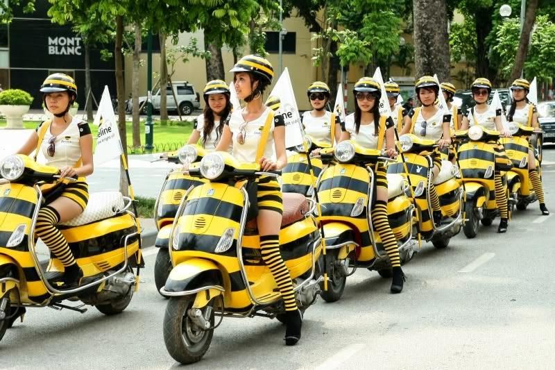Xe gắn máy và quái nhân VietNam 4