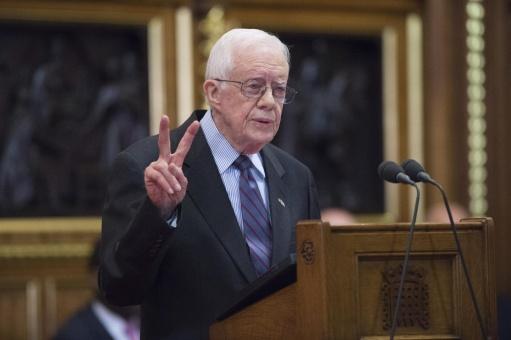 Jimmy Carter pide a Obama reconocer Estado de Palestina antes del 20-E