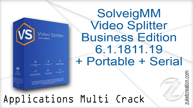 SolveigMM Video Splitter Business Edition 6.1.1811.19 + Portable + Serial