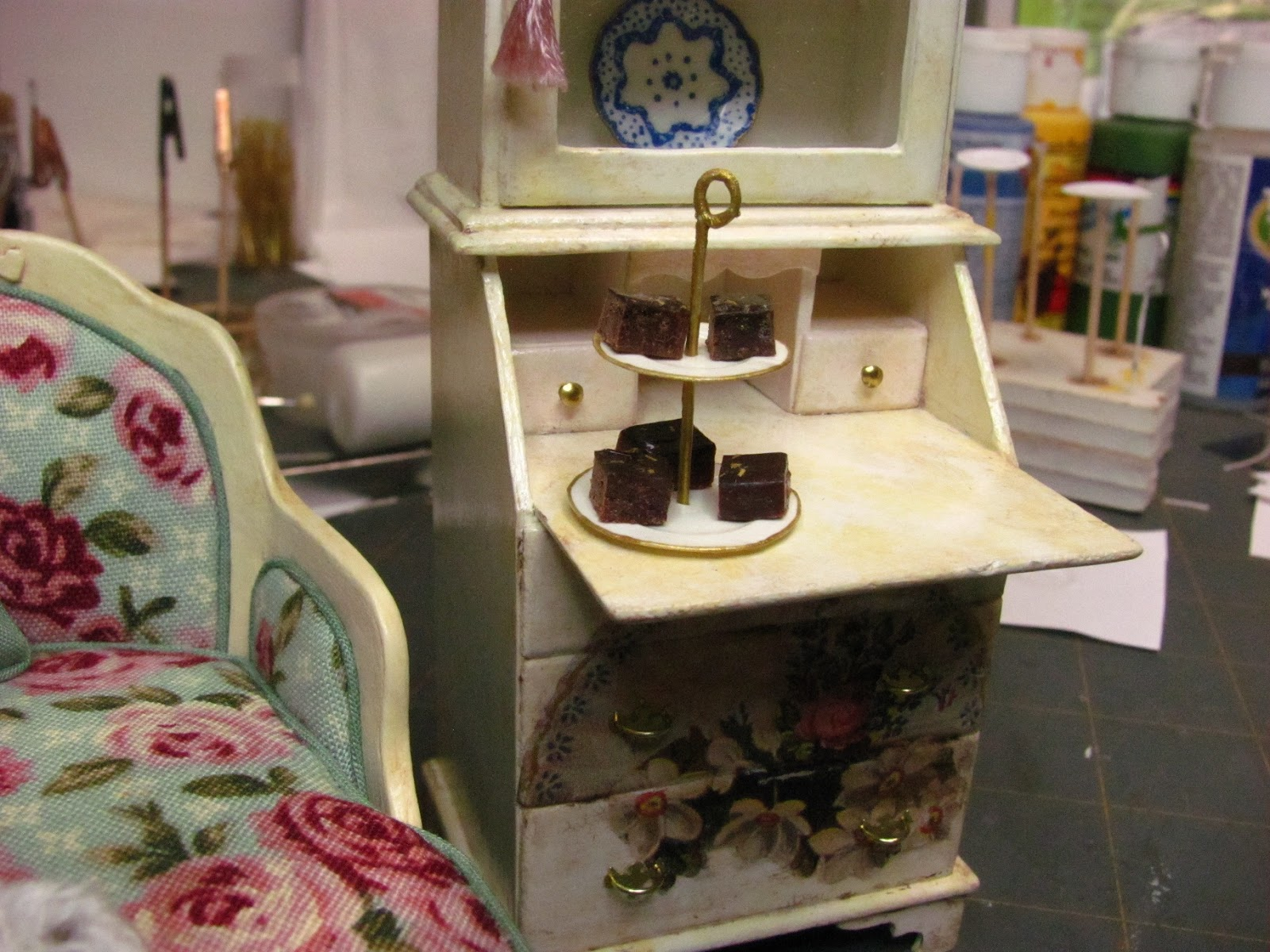 How To Make Miniature Furniture Chair View In Gallery Dollhouse