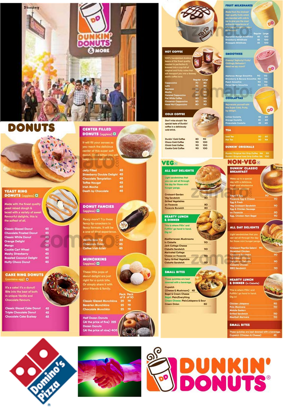 The Restaurant Business in India : Dunkin Donuts launched ...