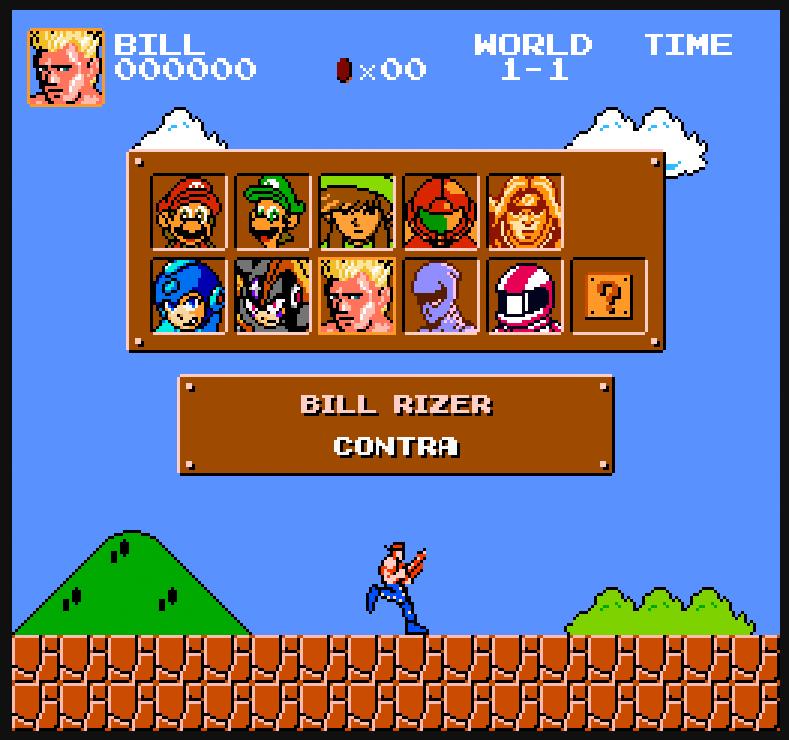 Retrogeeker Mega Mario Contra Vania