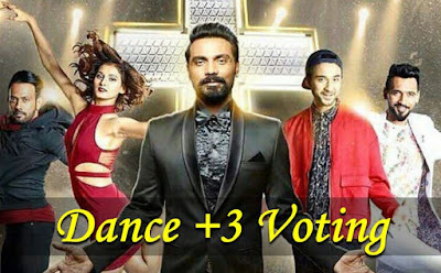 dance plus vote