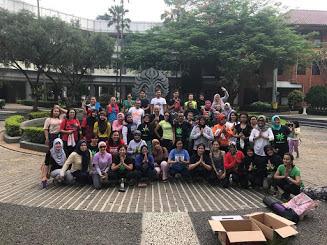 Latihan Yoga Bersama Komunitas Yoga Di Depok