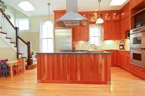 Wide Kitchen Island