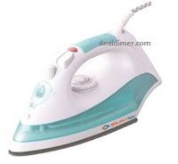 Bajaj MX 8 Steam Iron (Aqua Green) 1200W