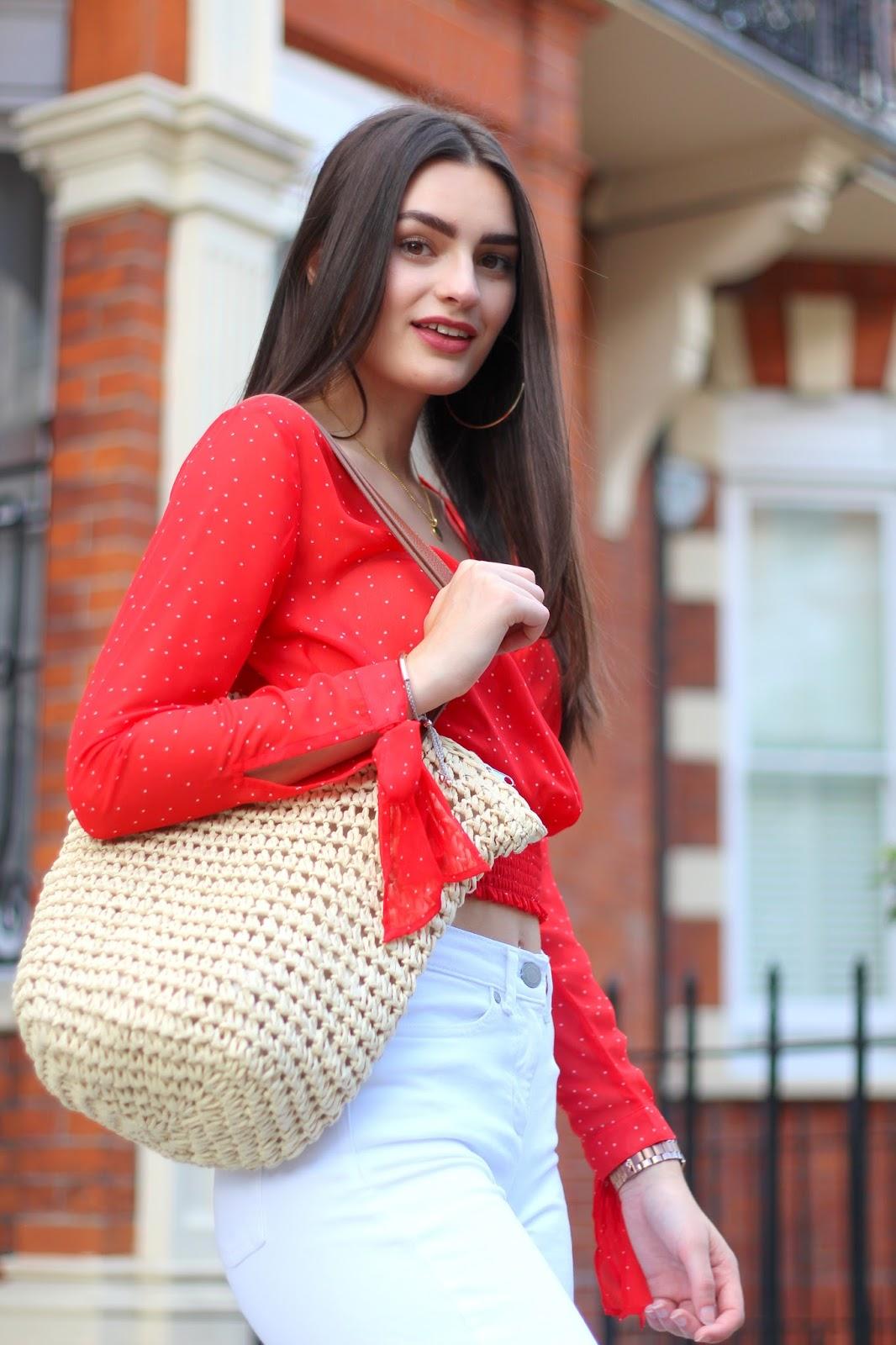 peexo summer accessories straw bag m&s