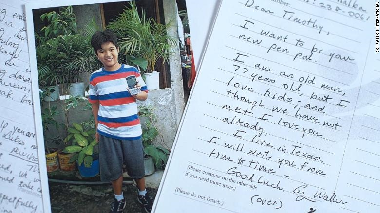 George Bush secretly sponsored a Pinoy kid for 10 years