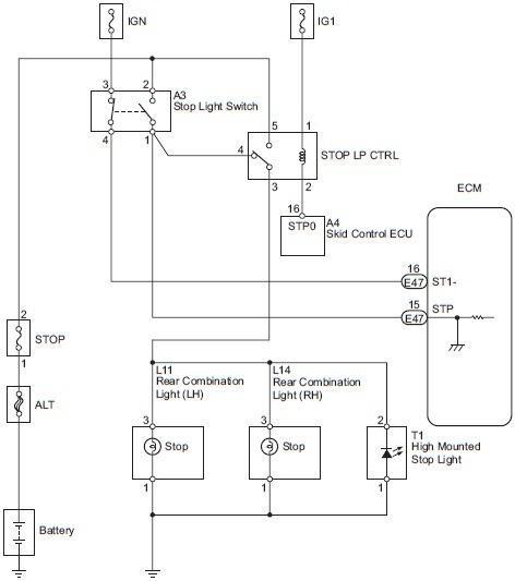 Wiringdiagrams 2007 Toyota Fj Cruiser Stop Light Switch