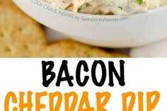 Bacon Cheddar Dip Recipe