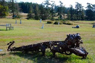 Westcott Bay Sculpture Park San Juan Island Washington
