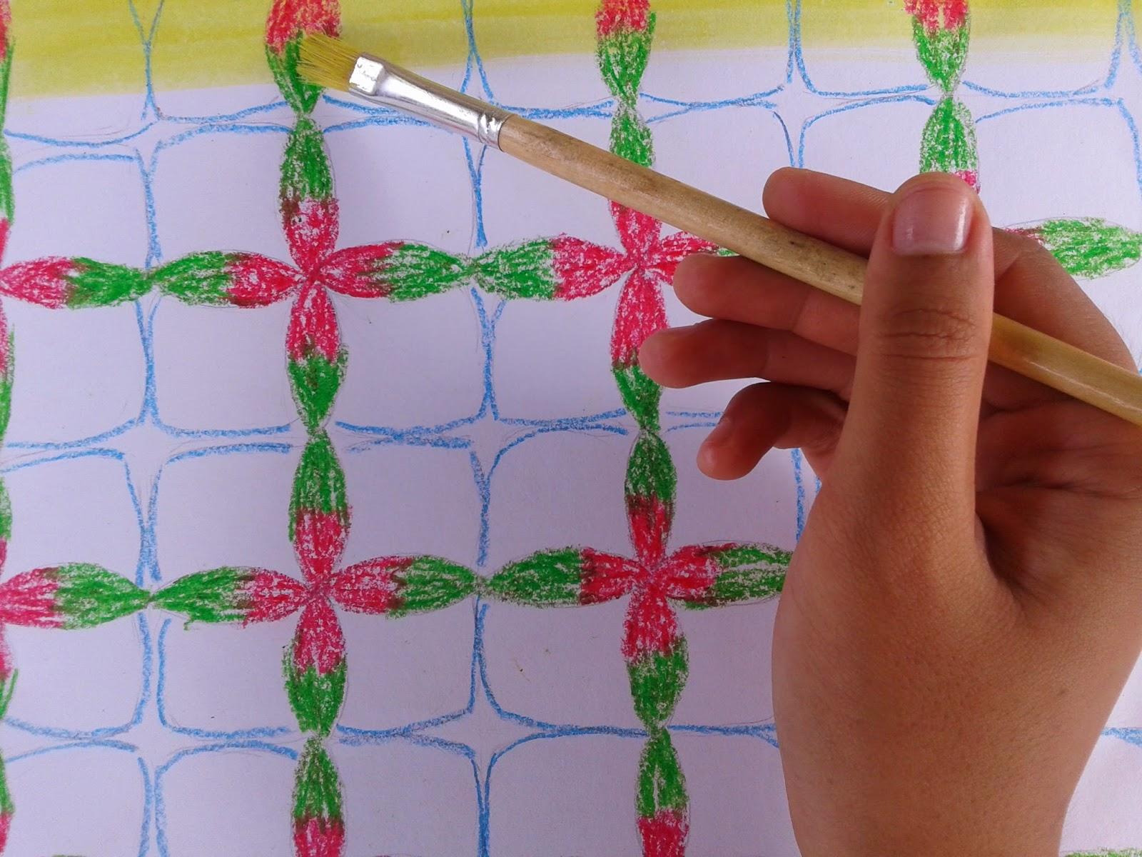 Seni Rupa Membuat Batik Sederhana