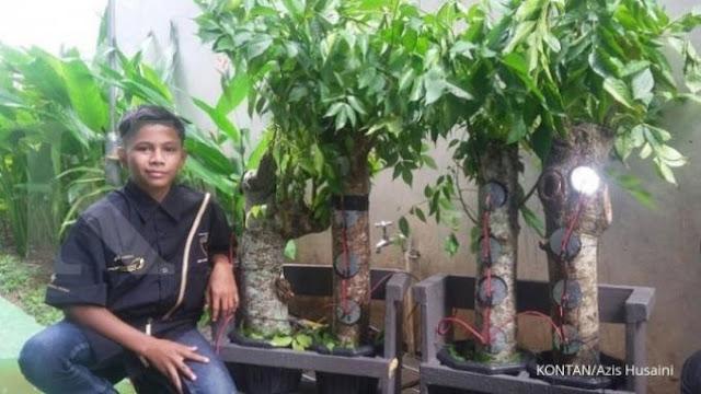 Naufal Raziq, Penemu Tenaga Listrik dari Kandungan Asam Pohon Kedondong