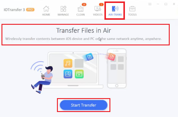 how to transfer files from pc to iphone