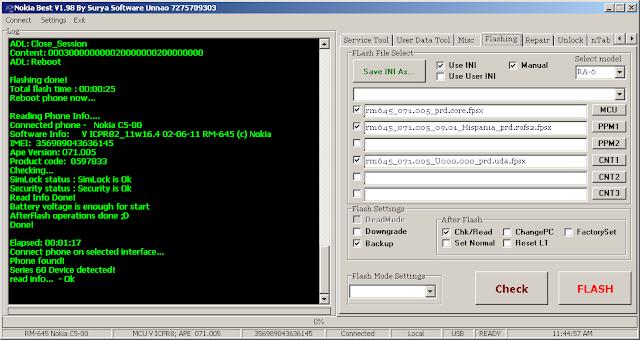 Nokia C5-00 MCU PPM CNT