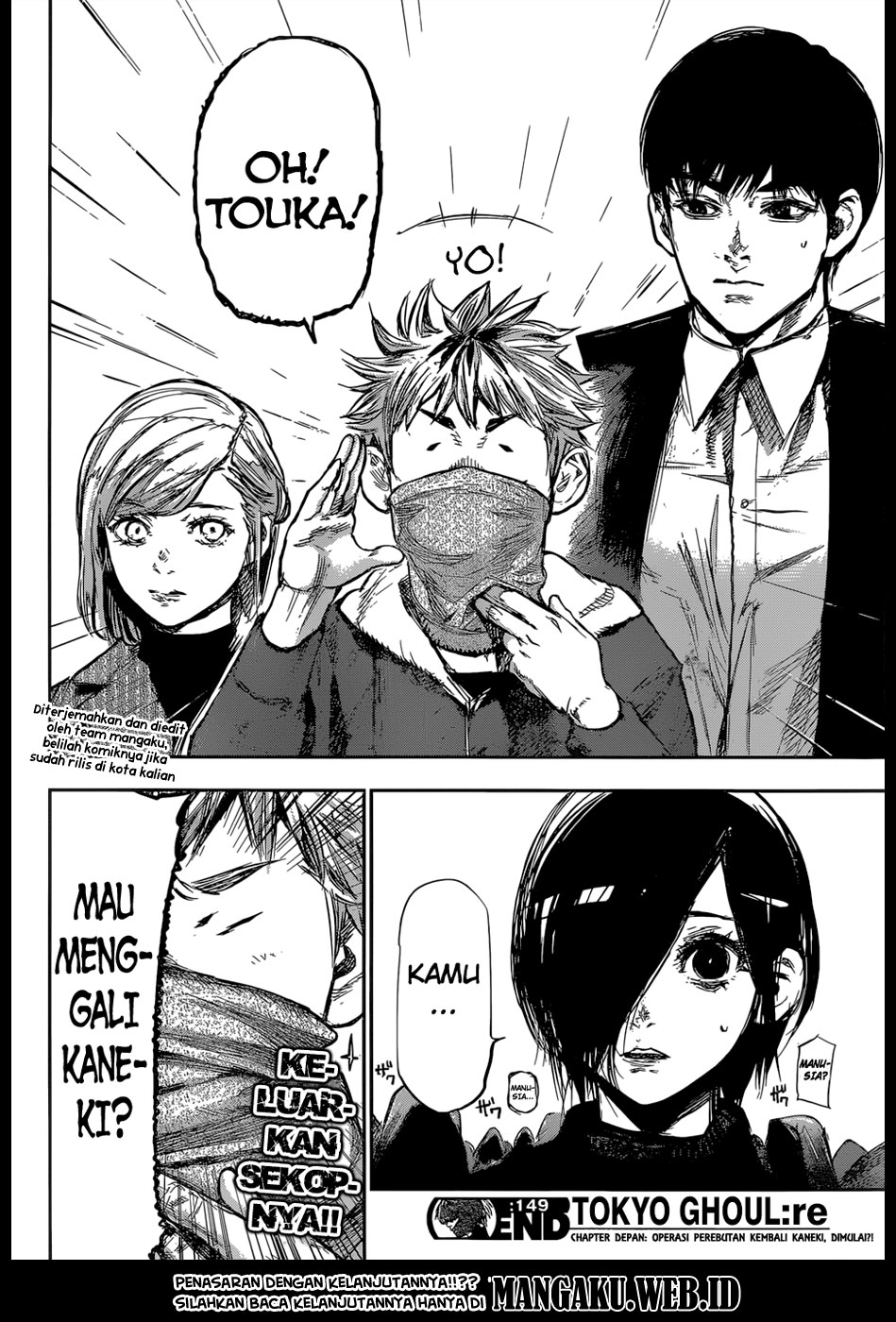 Tokyo Ghoul:re Chapter 149