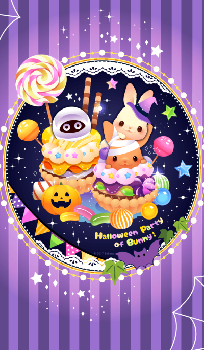 Halloween party of Bunny!